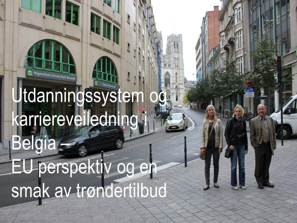 SIU Leonardo da Vinci Mobilitet EU's program for livs lang læring Uke 17, 22-27.april 2012 Ca 10 deltagere Målsetting: å styrke den internasjonale dimensjonen i karriereveiledningen for den nord-trønderske befolkningen