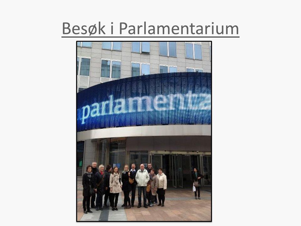 Besøk i Parlamentarium