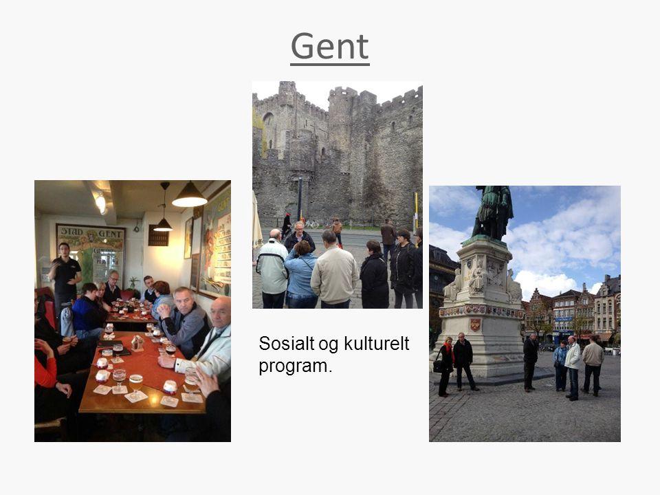 Gent Sosialt og kulturelt program.