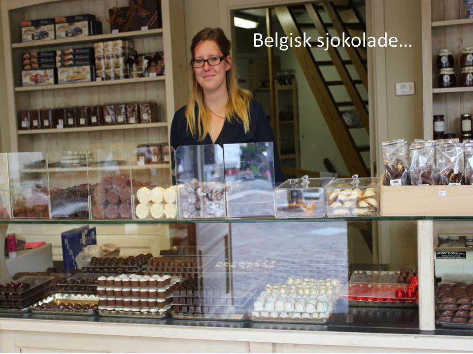 Belgisk sjokolade…