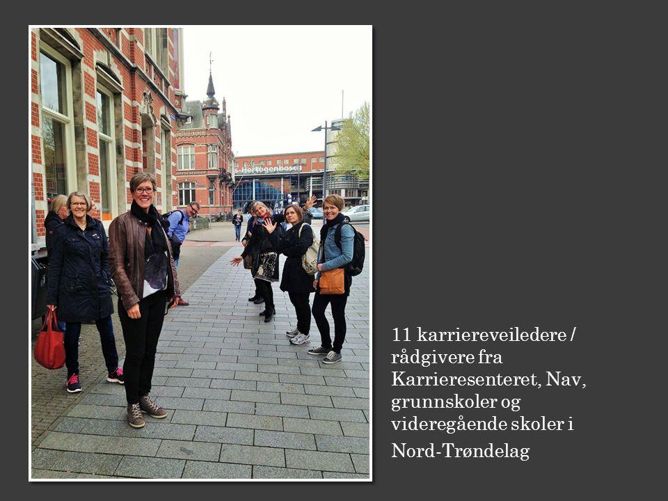 11 karriereveiledere / rådgivere fra Karrieresenteret, Nav, grunnskoler og videregående skoler i Nord-Trøndelag