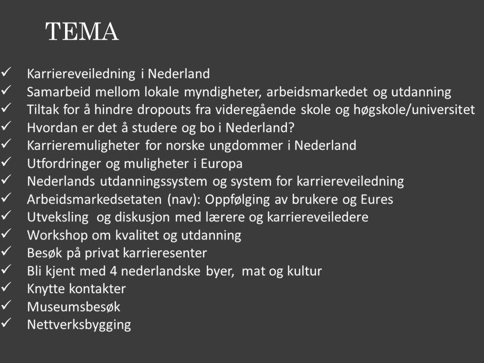 Privat karrieresenter i Amsterdam