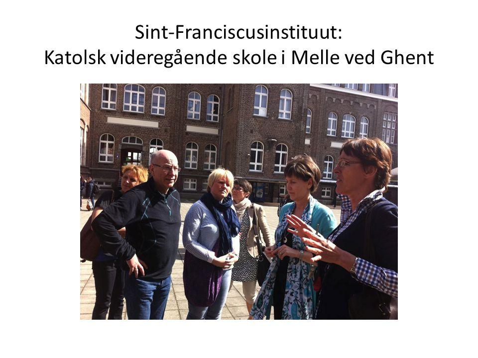 Sint-Franciscusinstituut: Katolsk videregående skole i Melle ved Ghent