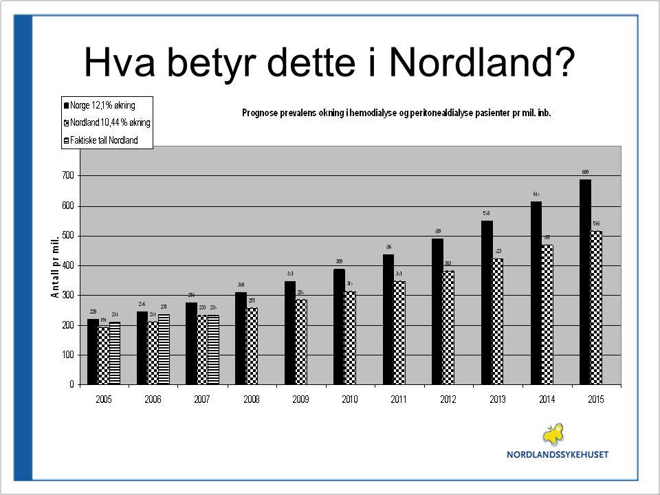 Hva betyr dette i Nordland?