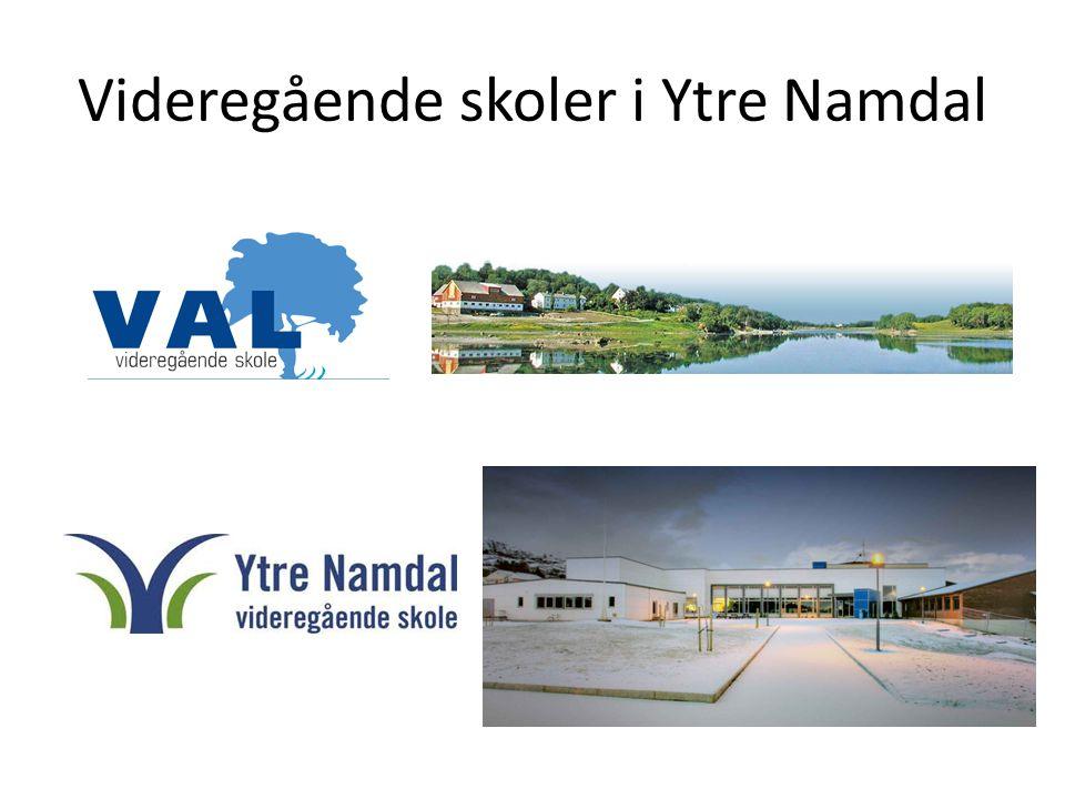Videregående skoler i Ytre Namdal