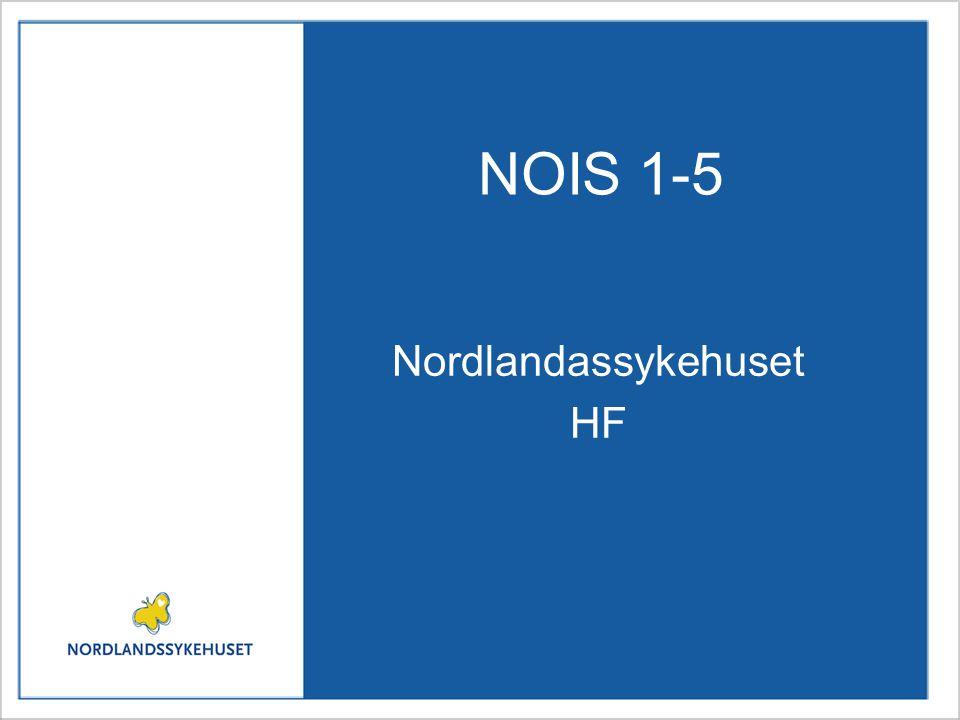 NOIS 1-5 Nordlandassykehuset HF