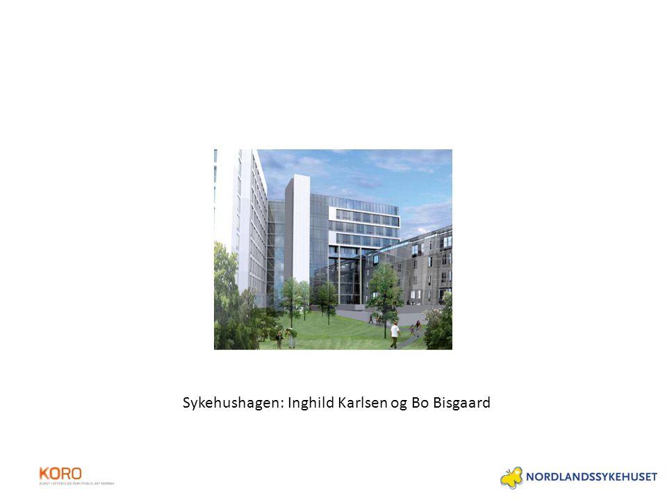 Sykehushagen: Inghild Karlsen og Bo Bisgaard