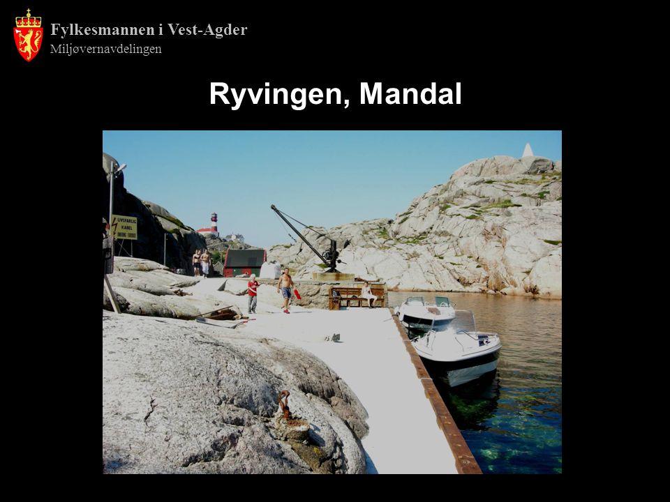 Fylkesmannen i Vest-Agder Miljøvernavdelingen Ryvingen, Mandal