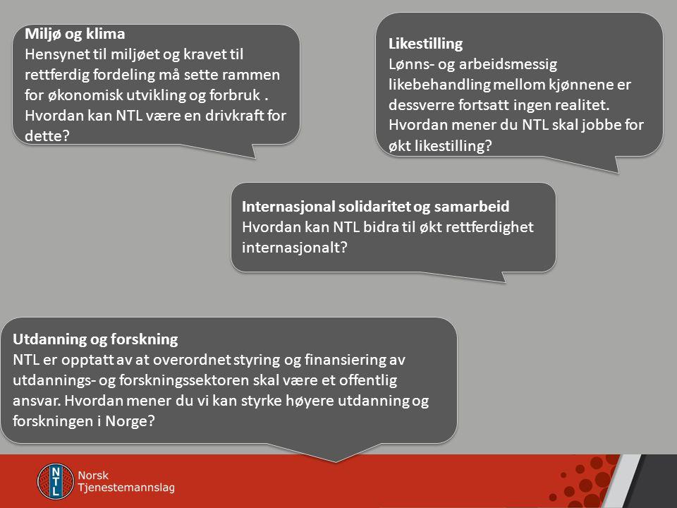 Internasjonal solidaritet og samarbeid Hvordan kan NTL bidra til økt rettferdighet internasjonalt.