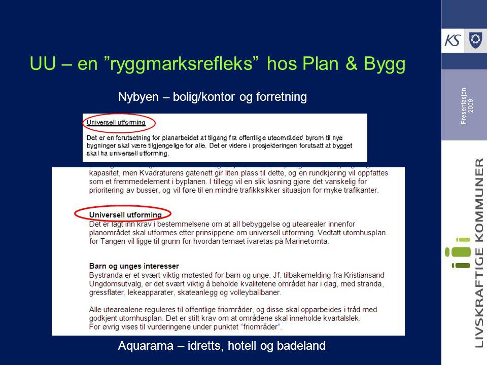 Presentasjon 2009 Reguleringsplan - AQUARAMA