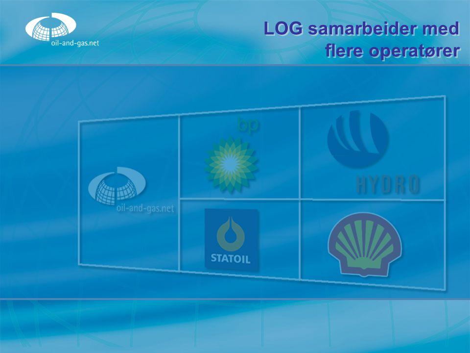 LOG samarbeider med flere operatører