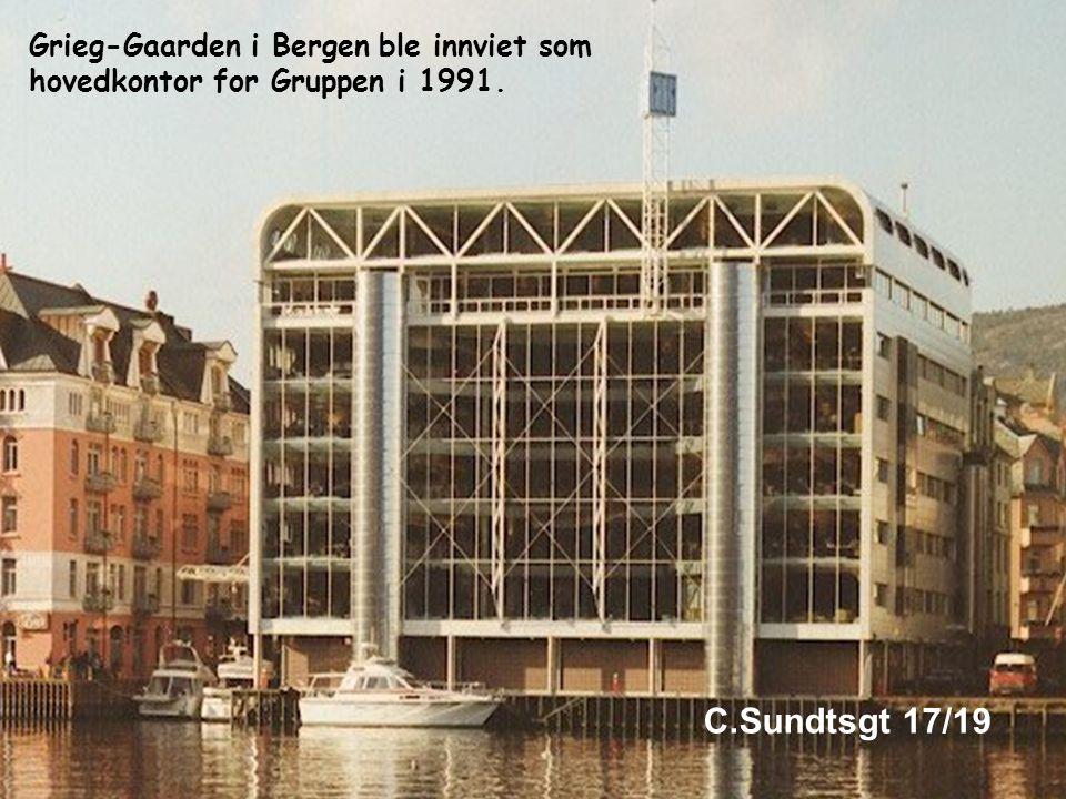 Siden har utviklingen gått gjennom 4 generasjoner Joachim Grieg startet virksomheten i 1884 som den yngste lisensierte skipsmekler i Bergen.