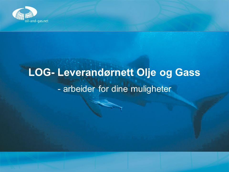 LOG- Leverandørnett Olje og Gass - arbeider for dine muligheter