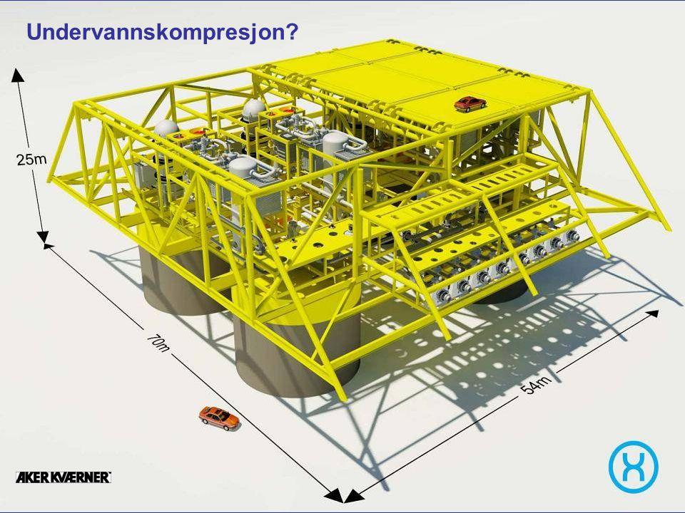 Date: 2007-09-26 Page: 30 Permanent subsea compression station Undervannskompresjon?