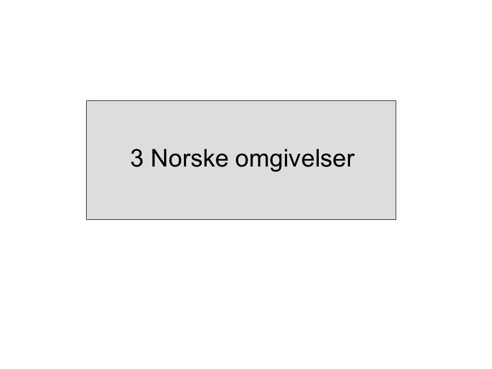 3 Norske omgivelser