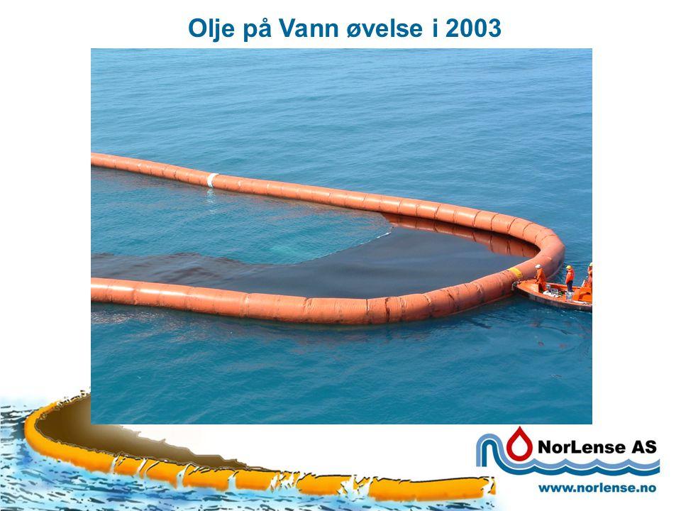 Olje på Vann øvelse i 2003