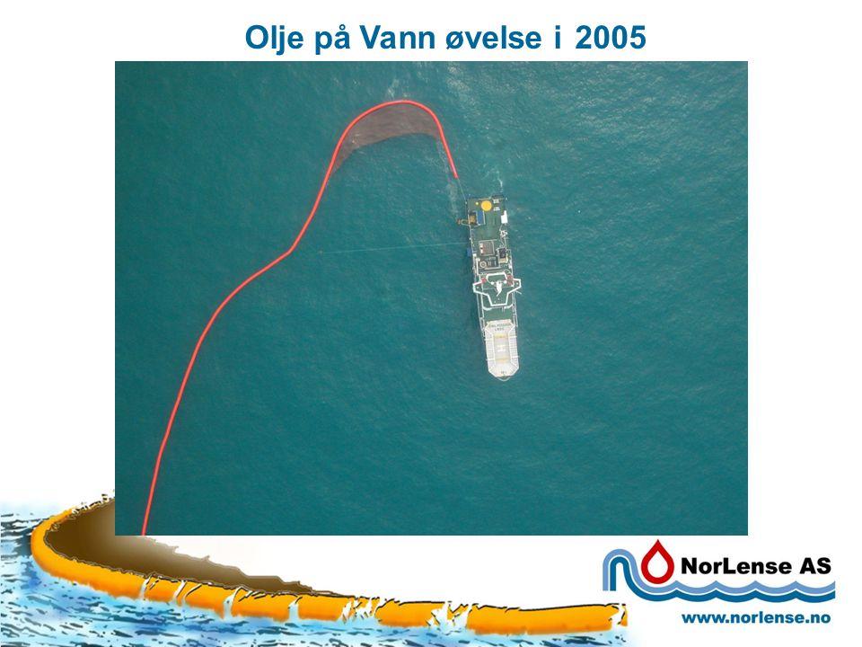 Olje på Vann øvelse i 2005