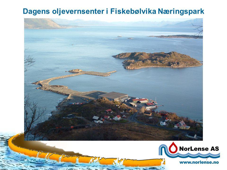 7 Dagens oljevernsenter i Fiskebølvika Næringspark