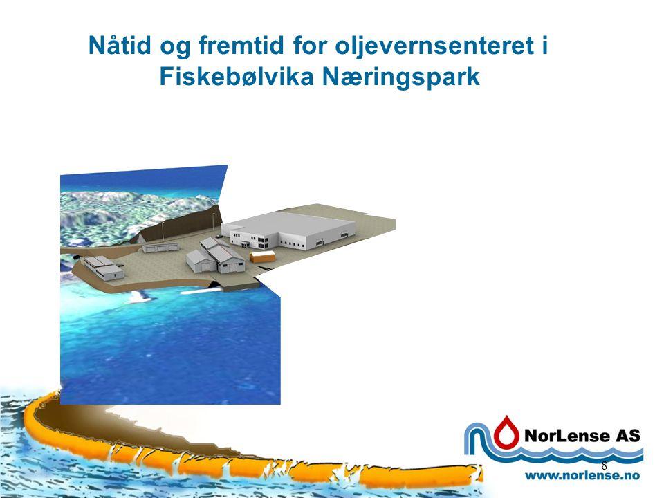 Samarbeidspartnere 9 Aktører i Fiskebølvika Næringspark: