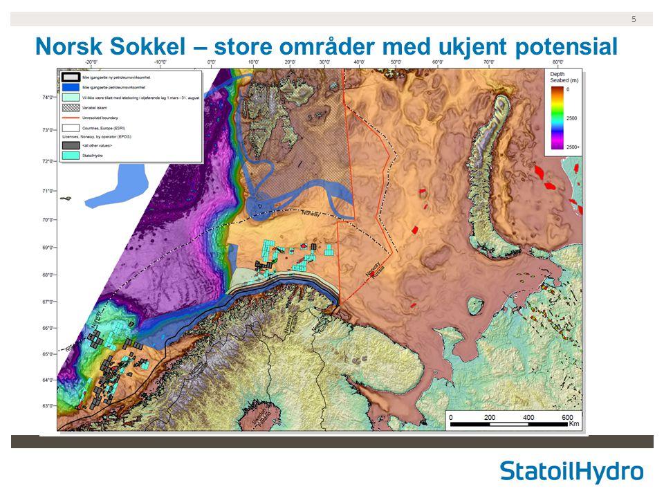 5 Norsk Sokkel – store områder med ukjent potensial