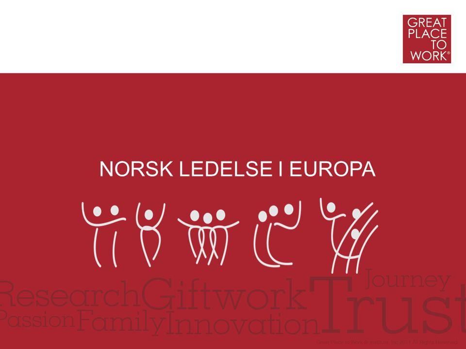 NORSK LEDELSE I EUROPA