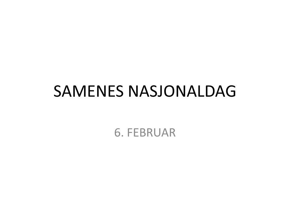 SAMENES NASJONALDAG 6. FEBRUAR