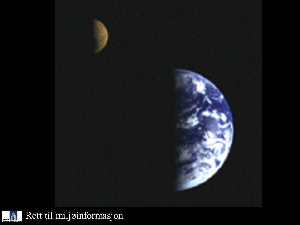 Rett til miljøinformasjon Måne