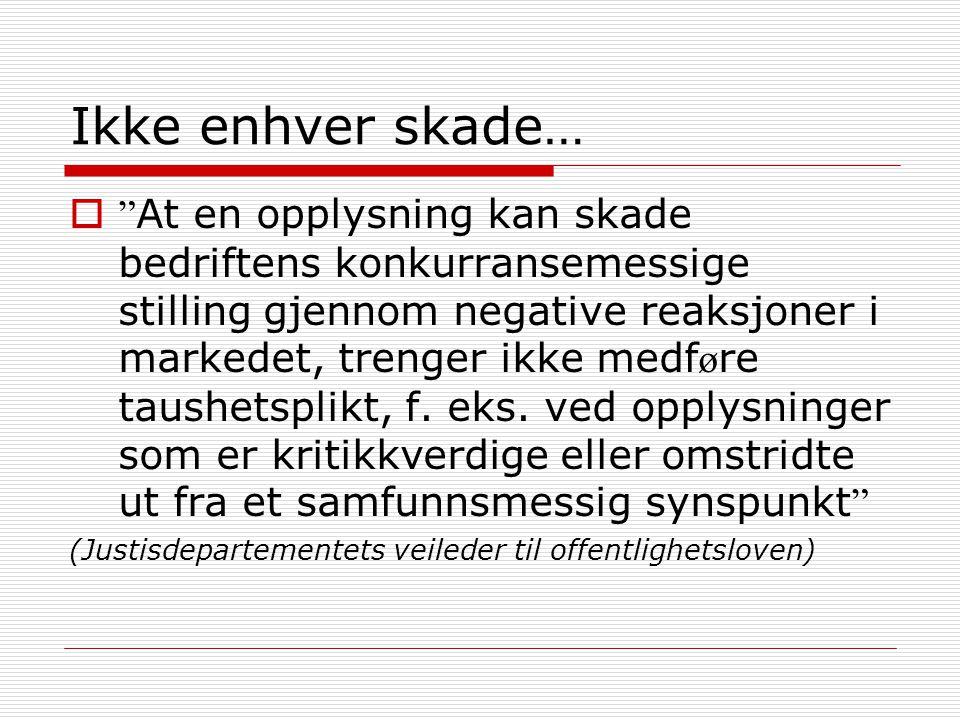 Pareto-saken II  Fylkesmannen har selvsagt forståelse for at det kan være behov for konfidensialitet rundt avtaleinngåelser, men kommunen kan ikke gjøre dette ved å sette offentlighetsloven til side. (Fylkesmannen i Oslo og Akershus)