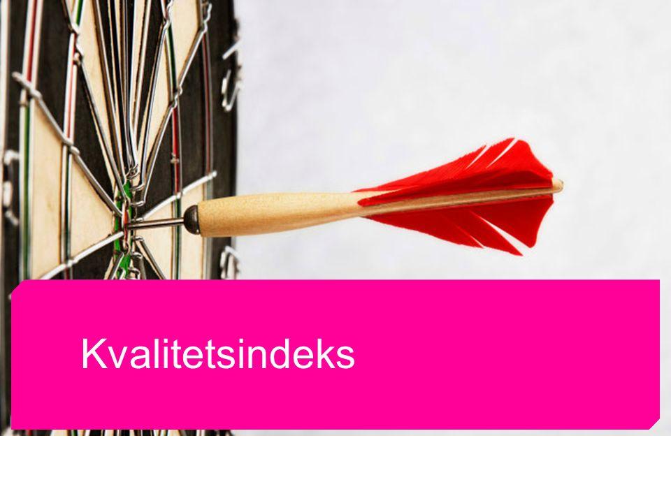Norsk Journalistlag og Norsk Redaktørforening Kvalitetsindeks