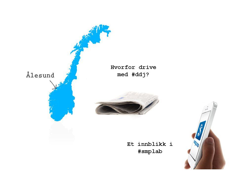 Hvorfor drive med #ddj? Et innblikk i #smplab