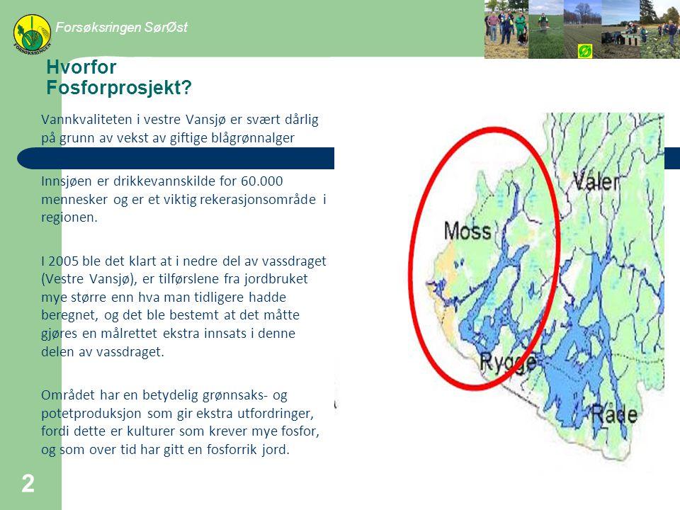 Handlingsplan for Vestre Vansjø Tiltak for å minske fosfortap: – Dyrkere inngår kontrakt Red.