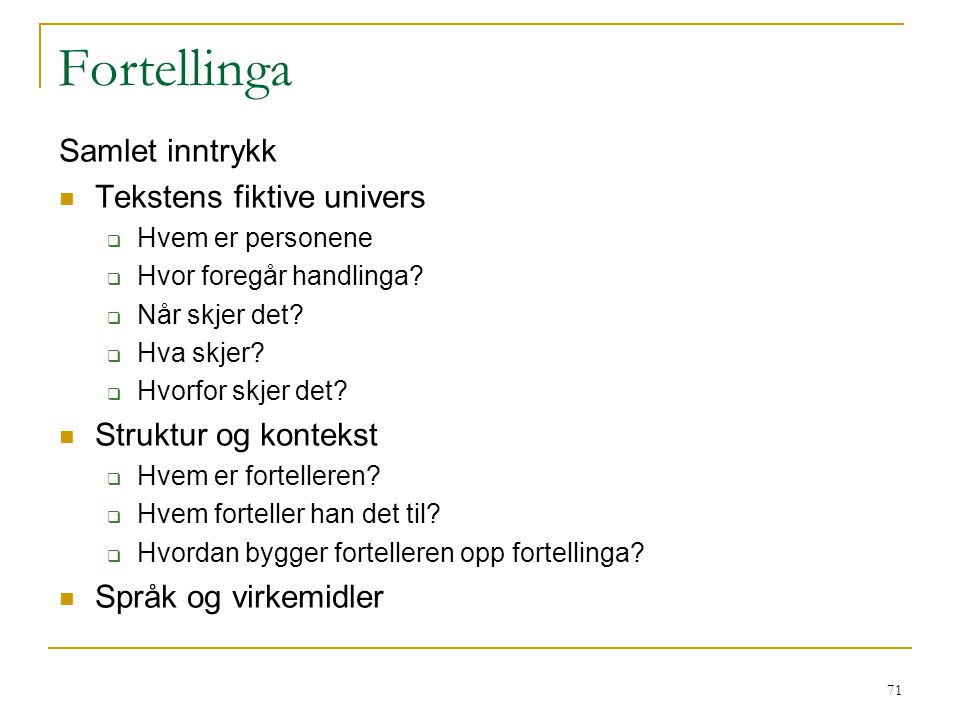72 Former for åpenbok-vurdering 1.Helt ÅB – alle hjelpemidler 2.