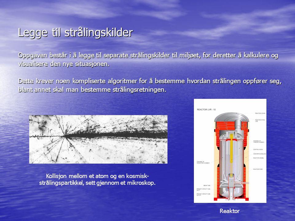Legge til strålingsvern Strålingsvern er en metode for å beskytte seg mot stråling.