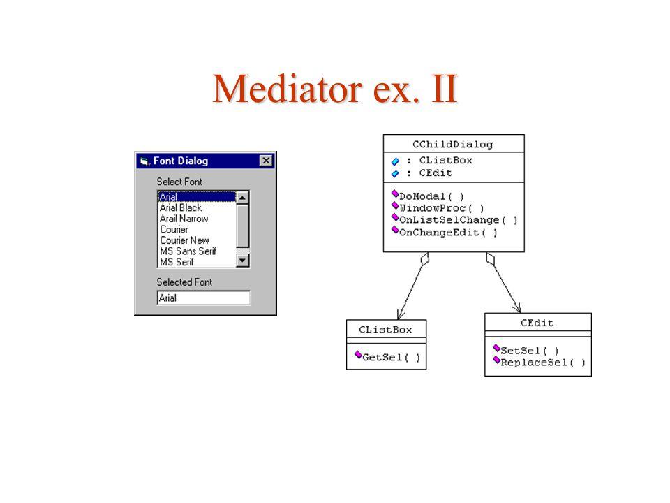 Mediator ex. II