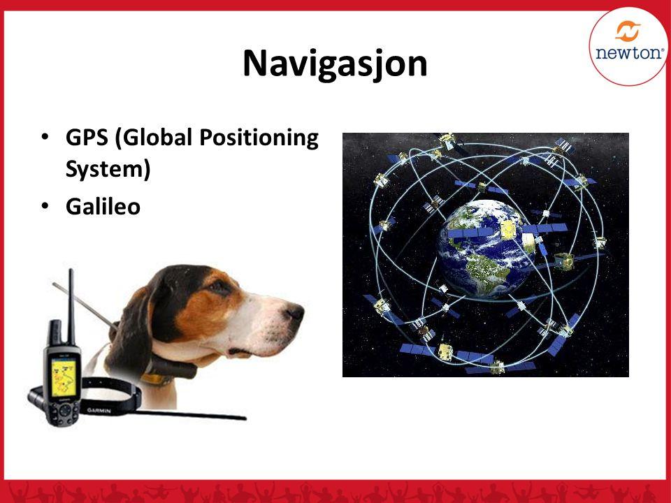 Navigasjon GPS (Global Positioning System) Galileo