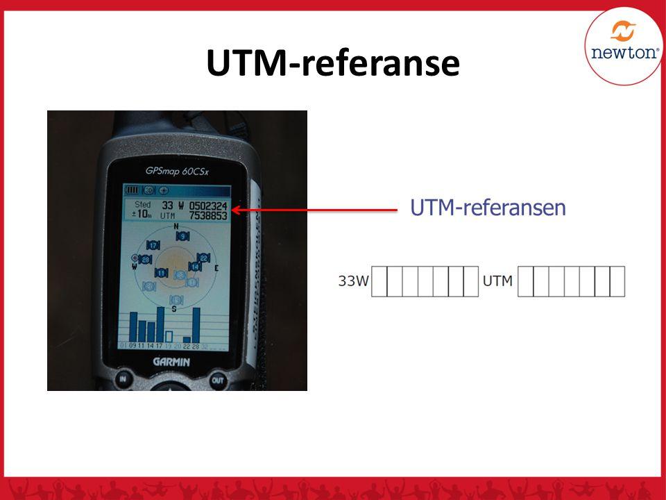 UTM-referanse