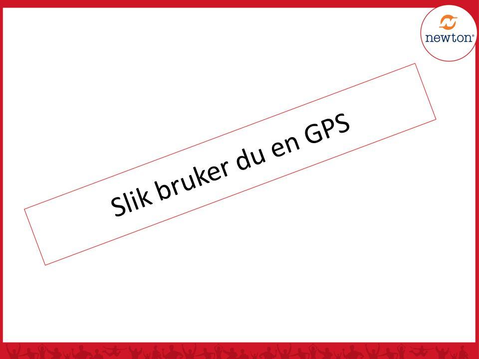 Slik bruker du en GPS