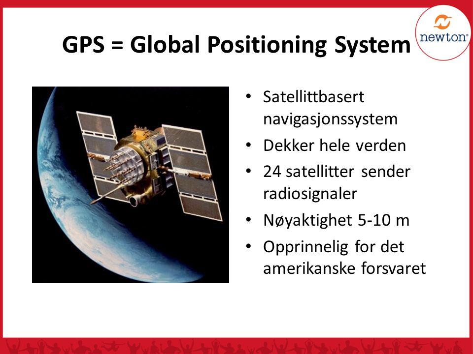 Hvordan virker GPS-systemet.