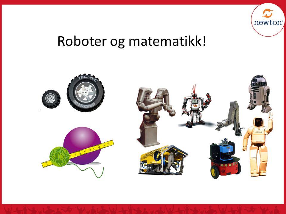 Roboter og matematikk!