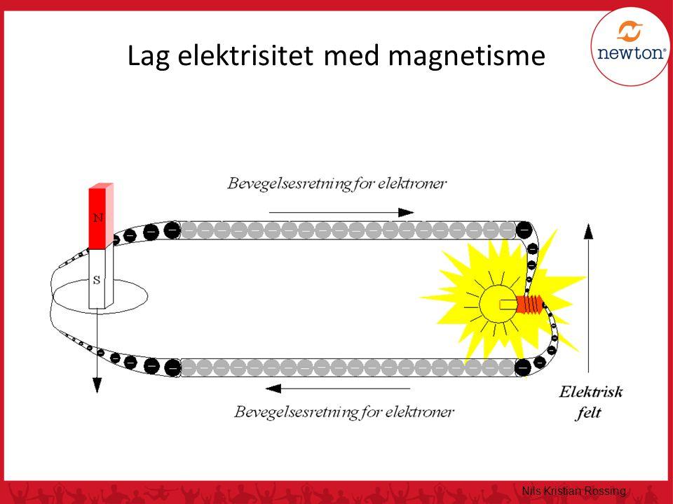 Nils Kristian Rossing Lag elektrisitet med magnetisme