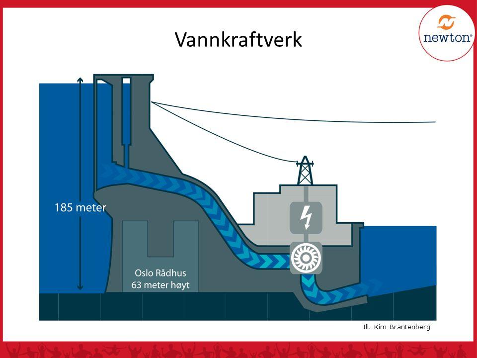Vannkraftverk Ill. Kim Brantenberg