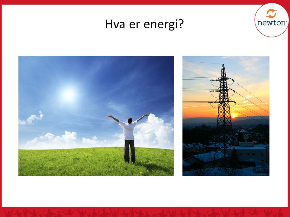 Hva er energi?