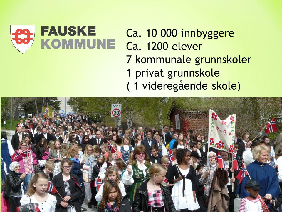Ca. 10 000 innbyggere Ca.