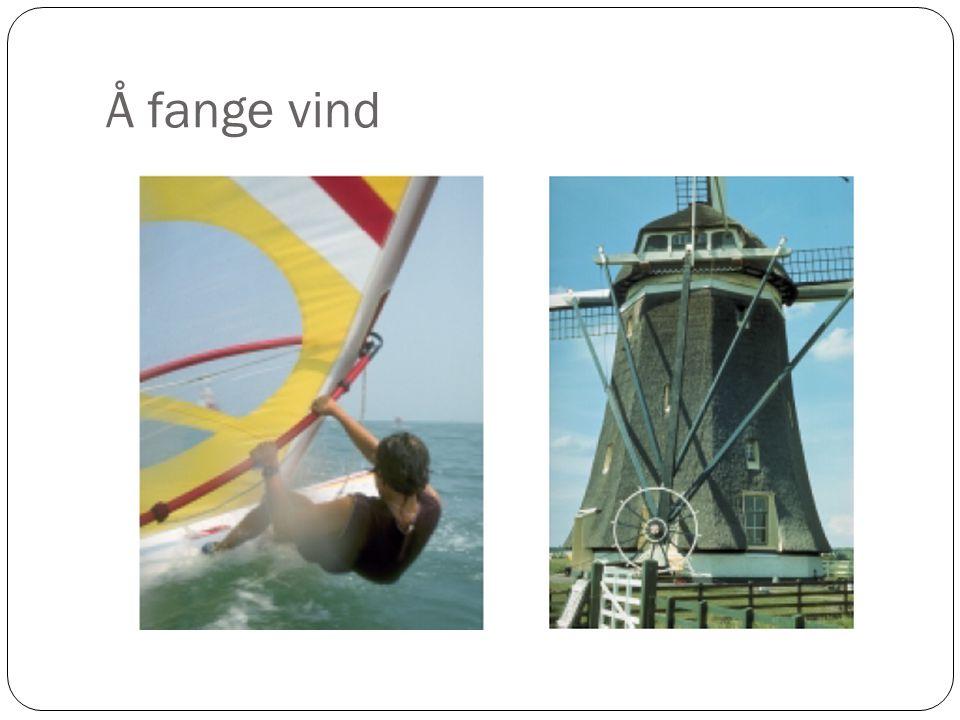 Å fange vind