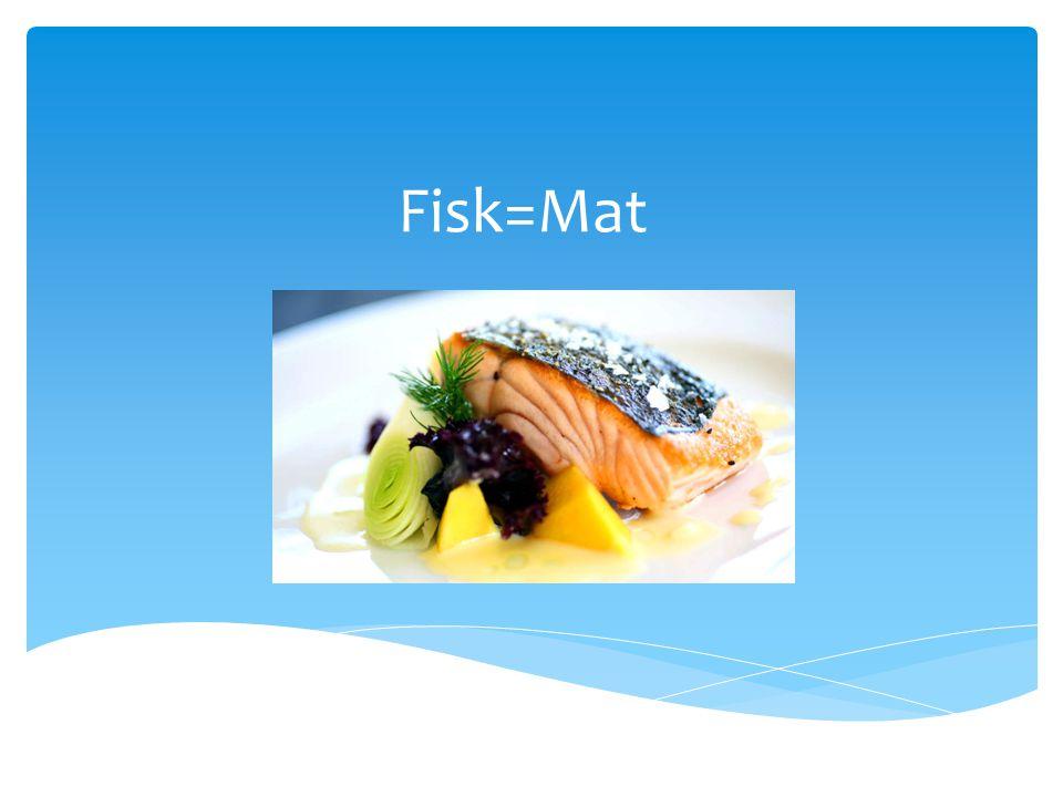 Fisken «puster» med gjellene  Fisk trenger også oksygen, men får ikke den i luften, men i vannet  Vann strømmer gjennom gjellene og oksygen strømmer i fiskens blod.