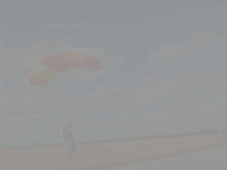 9 Vise og demonstere optima Optima'en vil fortelle deg hvilke høyder du befinner deg i under skjerm, og vil dermed frigjøre kapasitet til å se etter andre hoppere, vurdere vind og orientere deg i terrenget i innflygingsmønsteret.