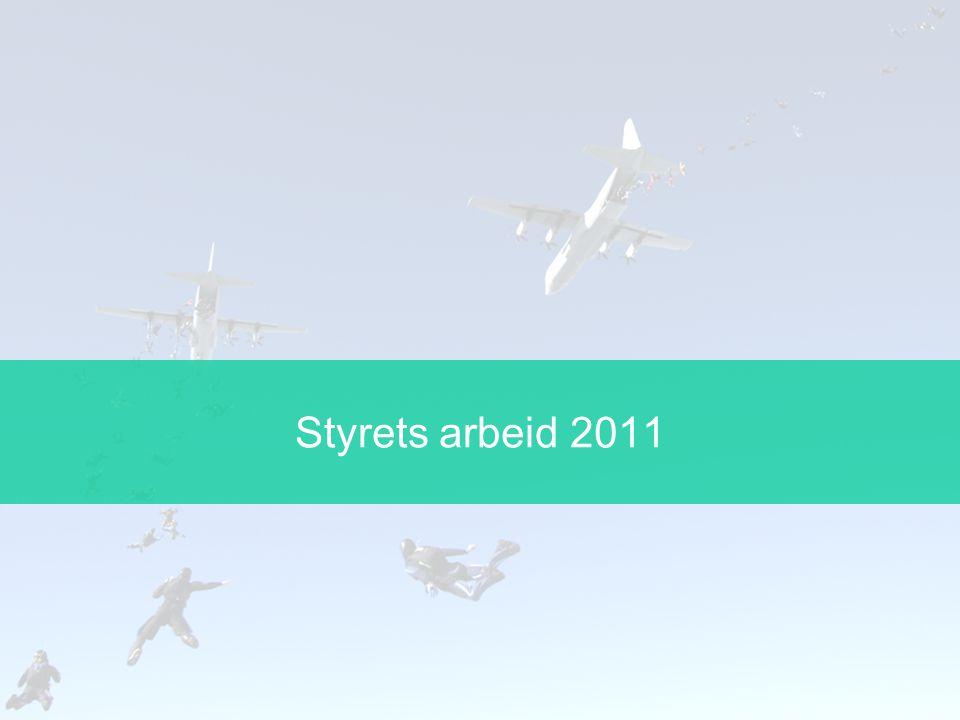Fallskjermseksjonen Status langtidsplan Regelverk