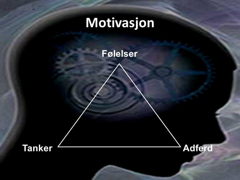 Motivasjon Følelser AdferdTanker
