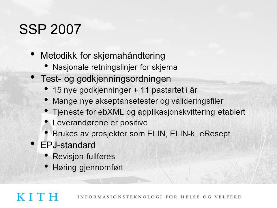 SSP 2007 Informasjonssikkerhet Veiledningsmateriale rund PKI (FAQ) Veiledning ift.