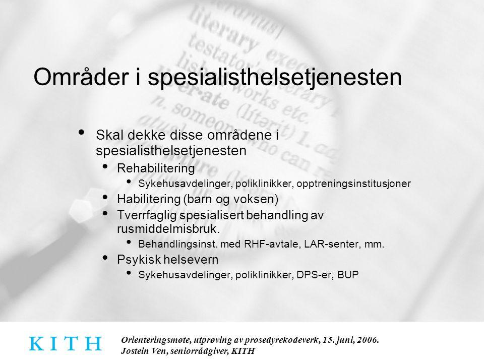 Orienteringsmøte, utprøving av prosedyrekodeverk, 15.